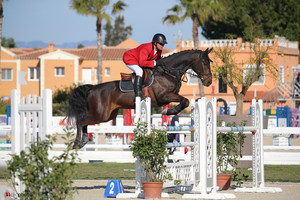Oliva, Spain - 2017 March 25:  during CSI Mediterranean Equestrian Tour 3 Bronze - 130.(photo: 1clicphoto.com I Mariann Marko)