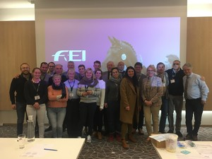 FEI General Veterinarian Course Monaco 2020 - The participants